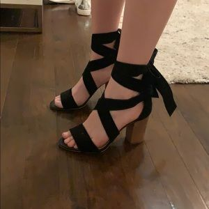 Black Gianni Bini Heels